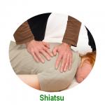 Sesión de Shiatsu